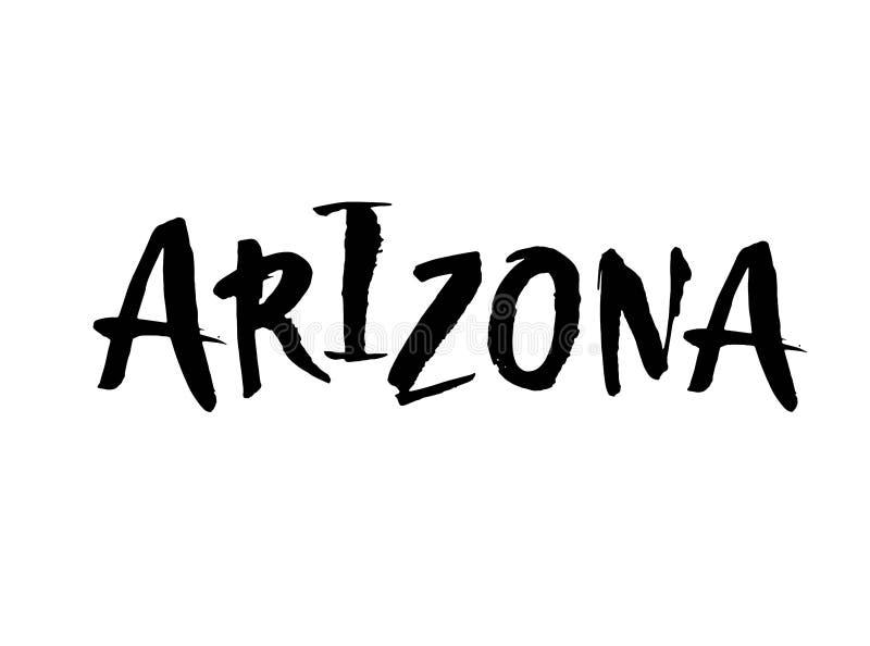 аристочратов Имя штата США руки вычерченное изолированное на белой предпосылке Современная каллиграфия щетки для вас дизайн Литер бесплатная иллюстрация