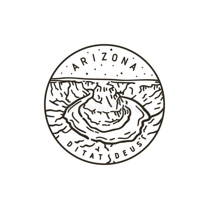 аристочратов река США Аризоны colorado horseshoe бесплатная иллюстрация