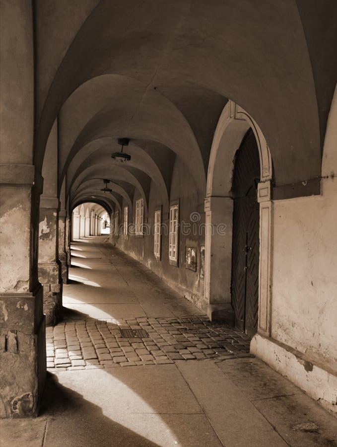 аркада стоковая фотография