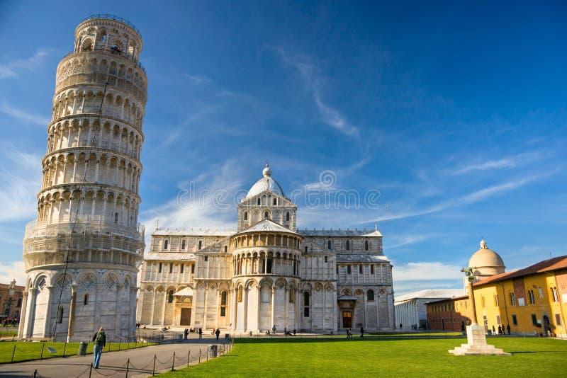 аркада pisa miracoli dei стоковая фотография