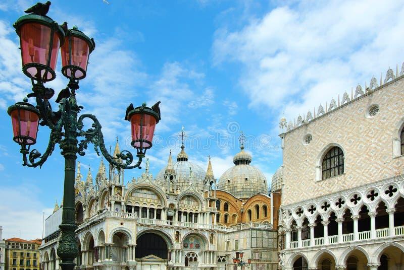 аркада san venice marco Италии стоковое фото rf