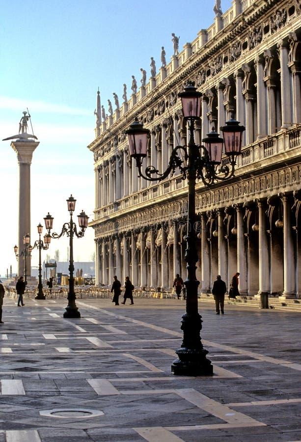 аркада san venice marco Италии di стоковое изображение rf