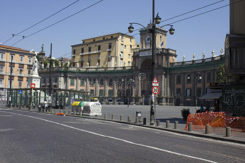 Аркада Dante, Неаполь стоковое изображение
