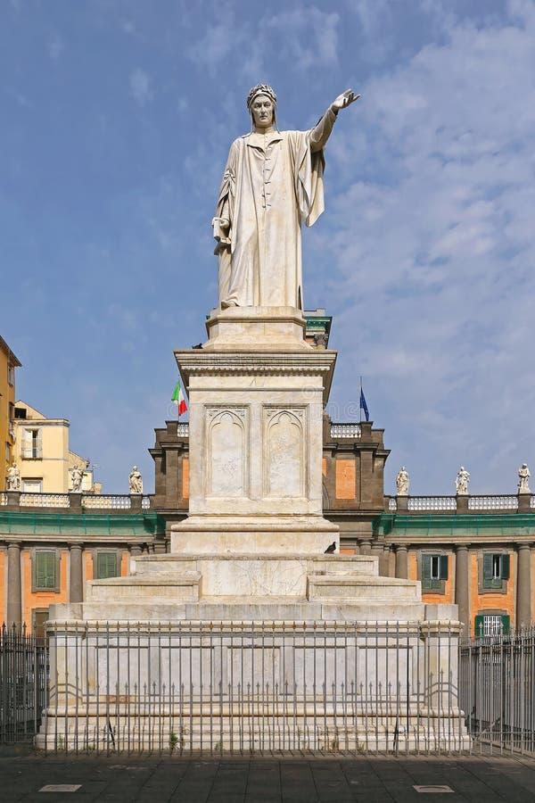 Аркада Dante Неаполь стоковое фото