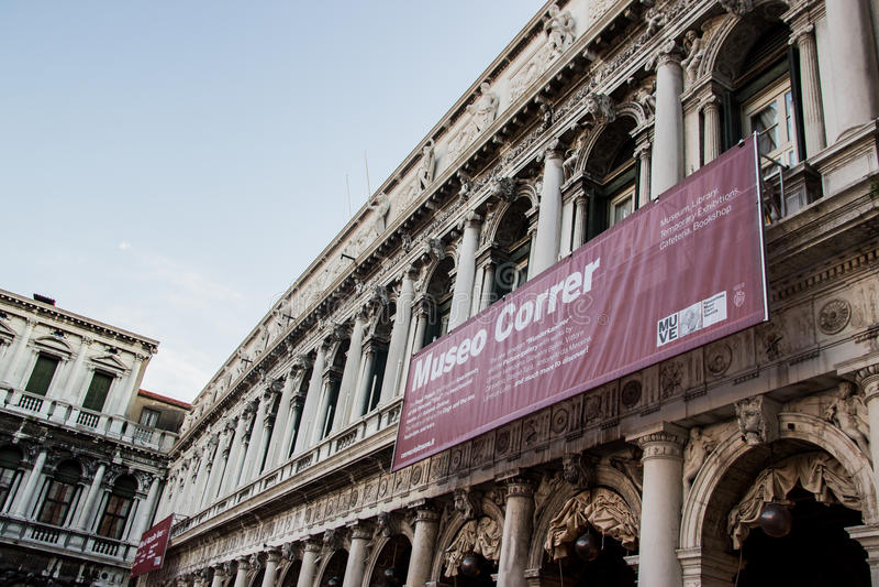 аркада san venice marco стоковое фото rf