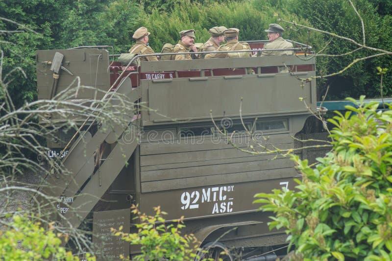Армия пап стоковые фотографии rf