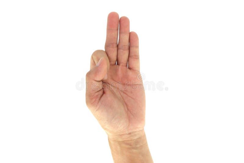 Армия/сигналы рукой /Signal Сват тактические: 9 9 изолированных на белой предпосылке стоковое фото
