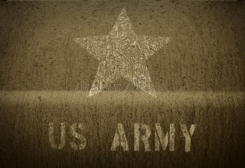 Армия США грязи стоковые фото