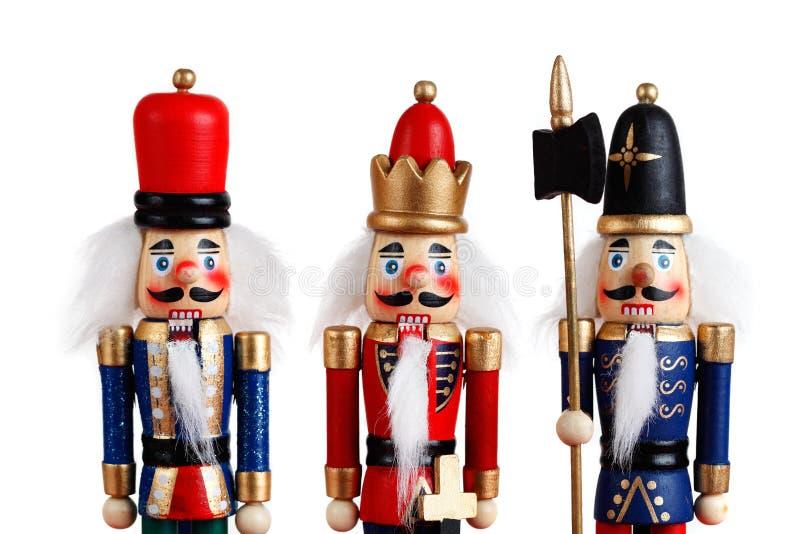 Армия Щелкунчика стоковая фотография