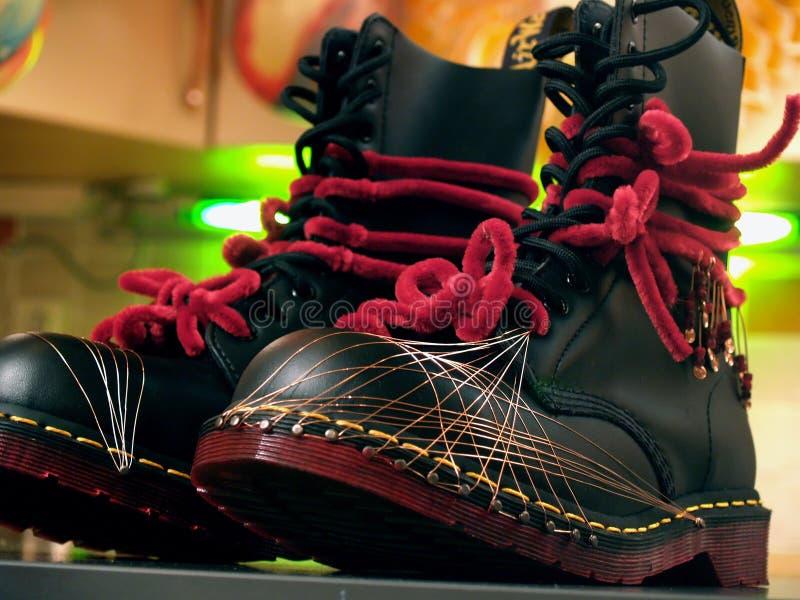 армия boots партия стоковые изображения