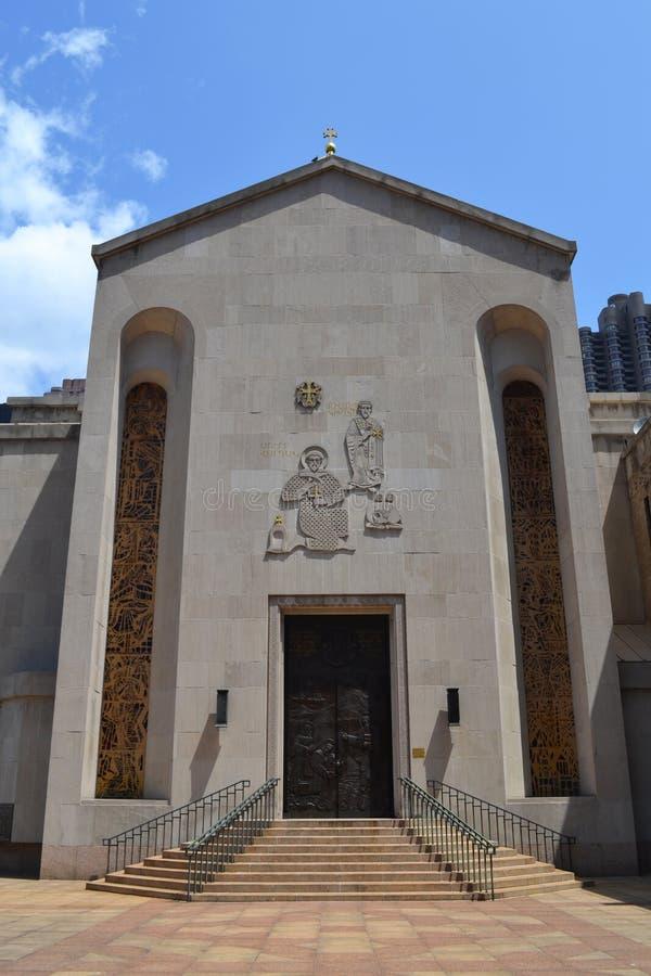 Армянская церковь в Нью-Йорке стоковые изображения