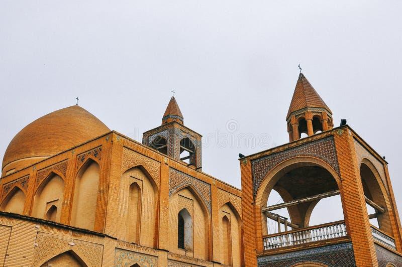 Армянская церковь в Isfahan правоверно стоковое изображение