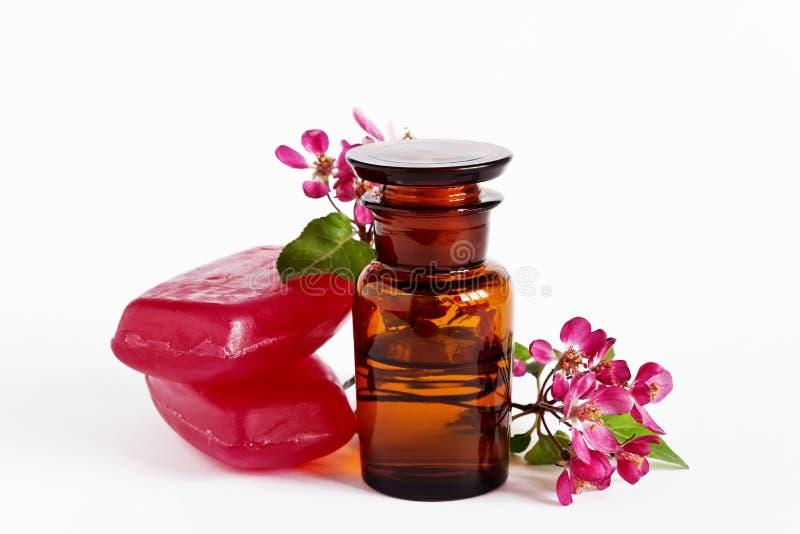 Ароматичное масло цветка стоковая фотография