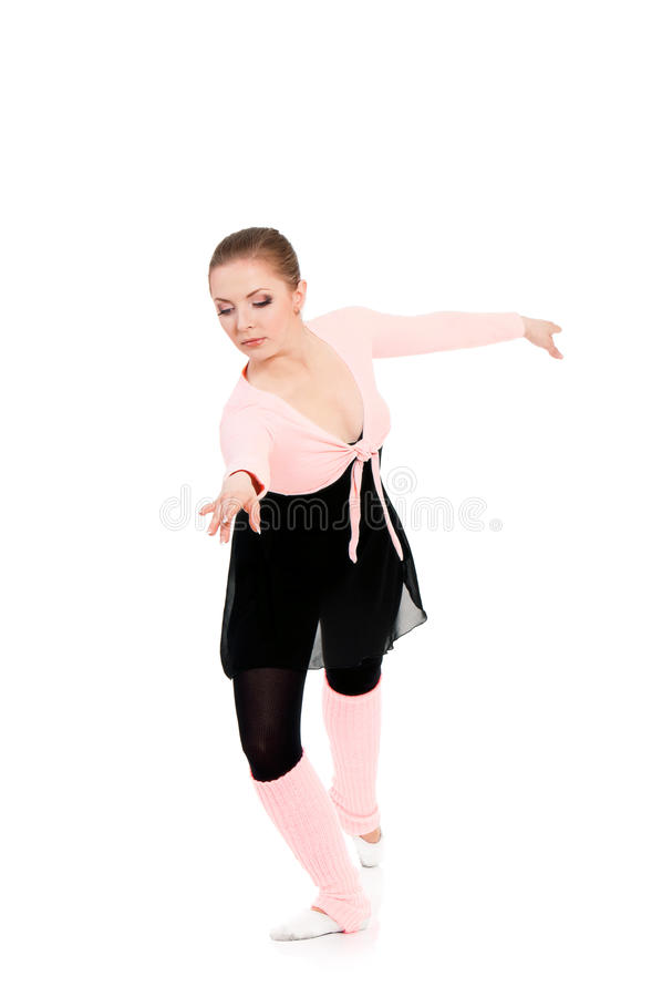 Артист балета балерины женщины стоковая фотография rf