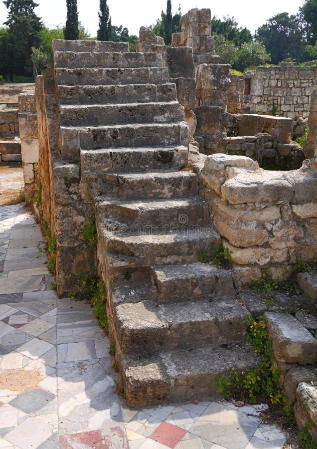 археологическая покрышка места Ливана стоковая фотография rf