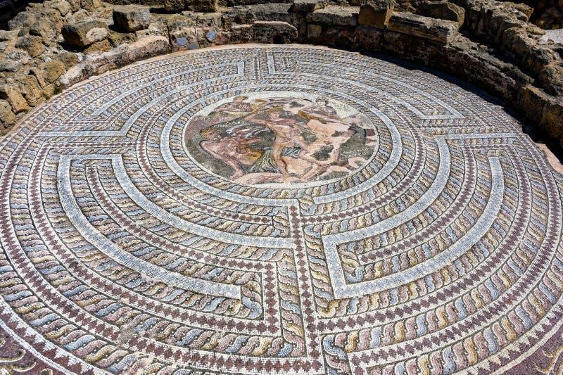 Археологические раскопки в Кипре стоковое фото rf