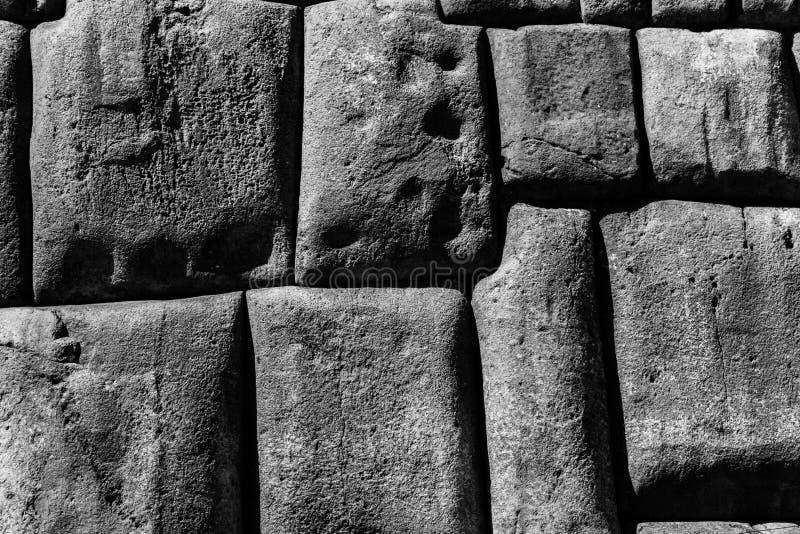 Археологические раскопки Sacsayhuaman, Перу стоковая фотография rf