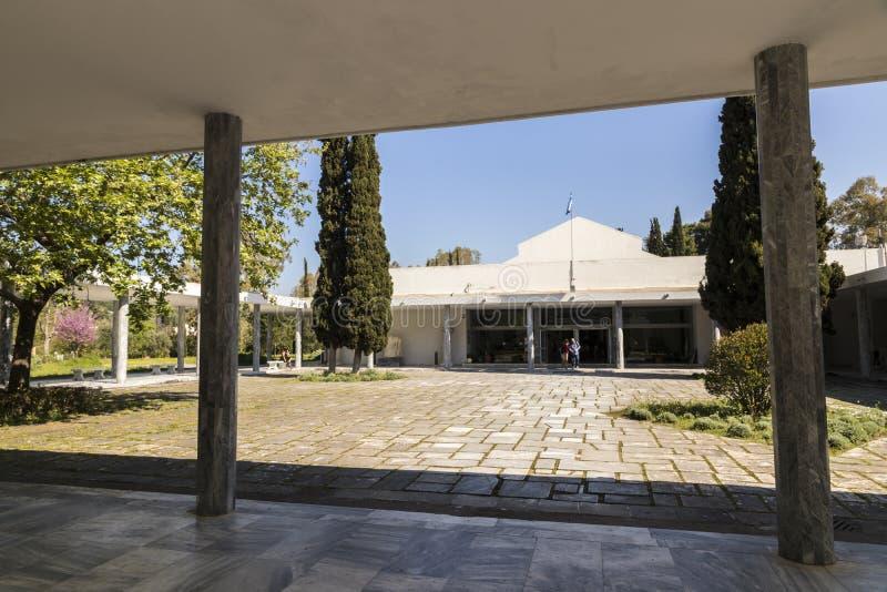 Археологический музей Олимпии стоковое фото