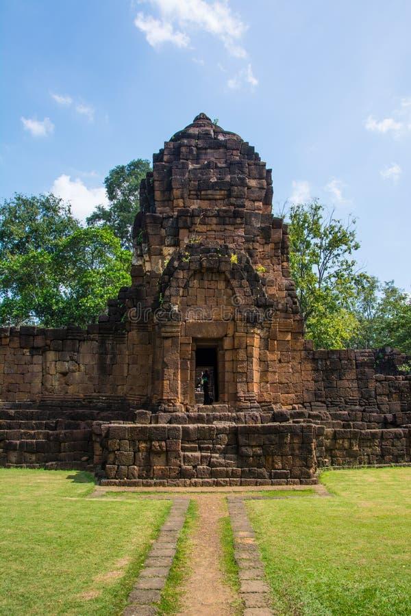Археологические раскопки, замок Таиланда стоковое изображение rf