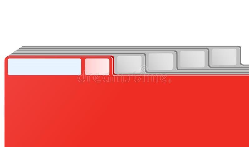 архивохранилище bookmarks вектор карточки иллюстрация вектора
