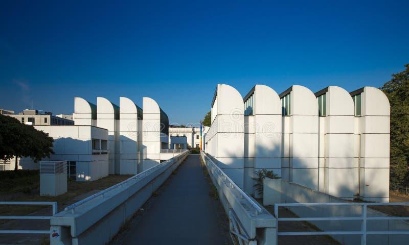 Архив Баухауза, Берлин, Германия - 20-ое августа 2018 - взгляд ба стоковое фото