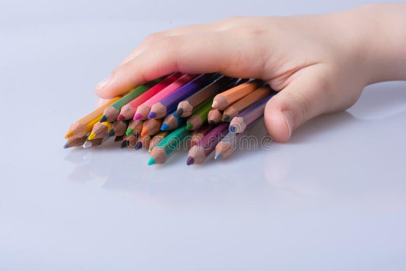 архив цвета предпосылки рисовал белизну вектора стоковое изображение
