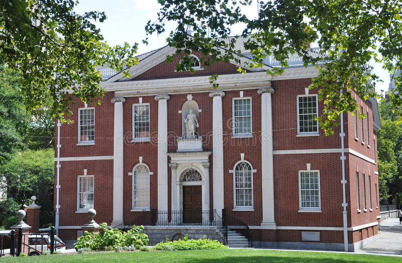 архив philadelphia залы стоковое фото