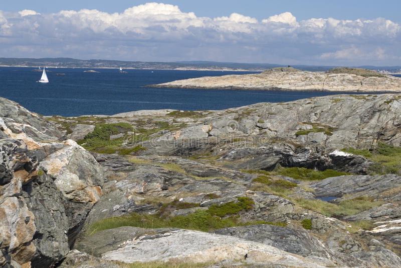 архипелаг Швеция стоковые фотографии rf