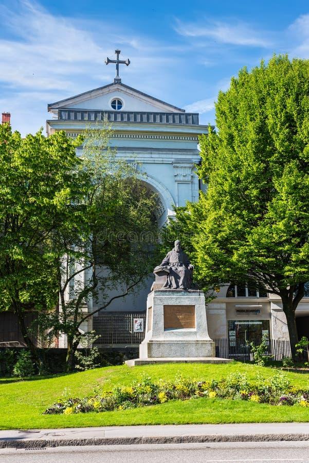 Архитектура Анси, Франции стоковые изображения rf