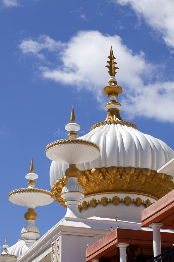 Архитектура: Ближневосточные элементы стиля Mughal стоковое фото