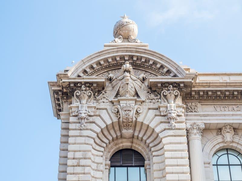 Архитектура в Монако стоковые изображения rf
