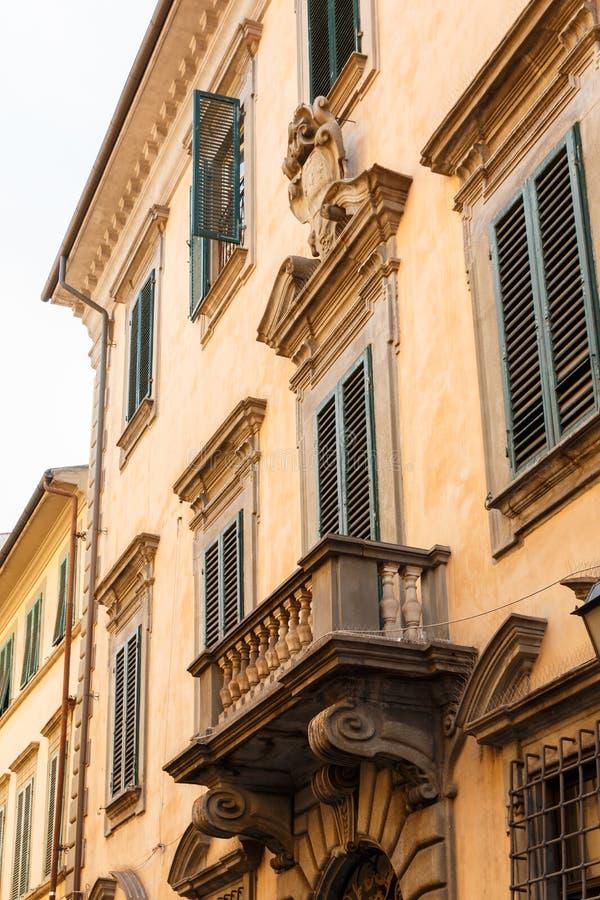 Архитектура в Пизе, Тоскане, Италии стоковое изображение