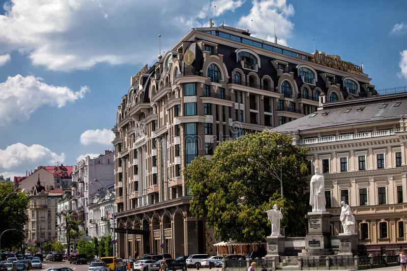 Архитектура города стоковые фото