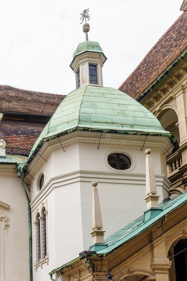 Архитектура Граца, Германии стоковая фотография
