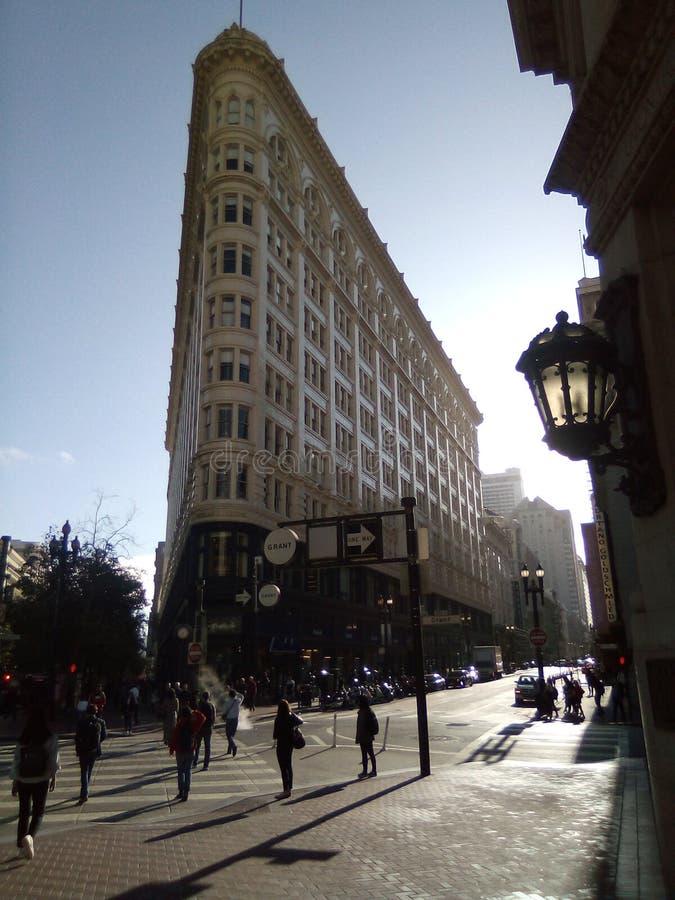 Архитектура зданий CA в Сан-Франциско стоковая фотография