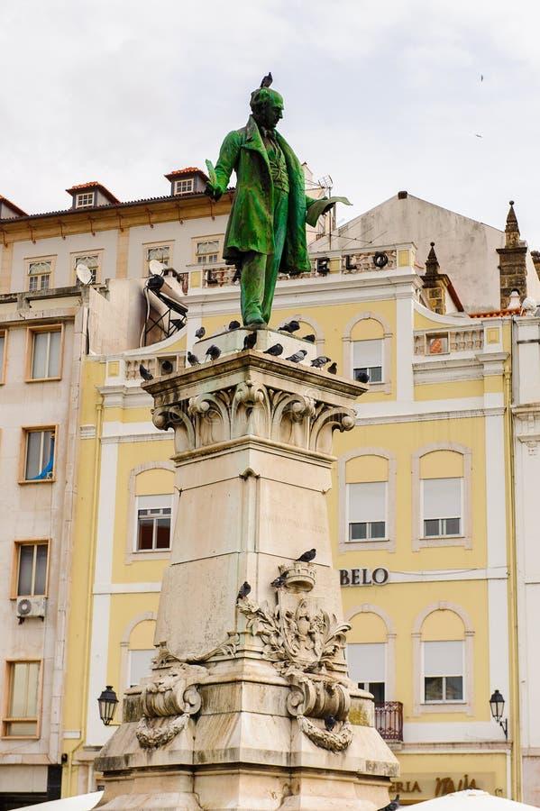 Архитектура исторического центра Коимбры, Португалии стоковое фото rf