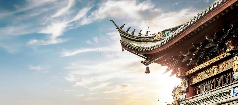 Архитектура Китая стоковые фото