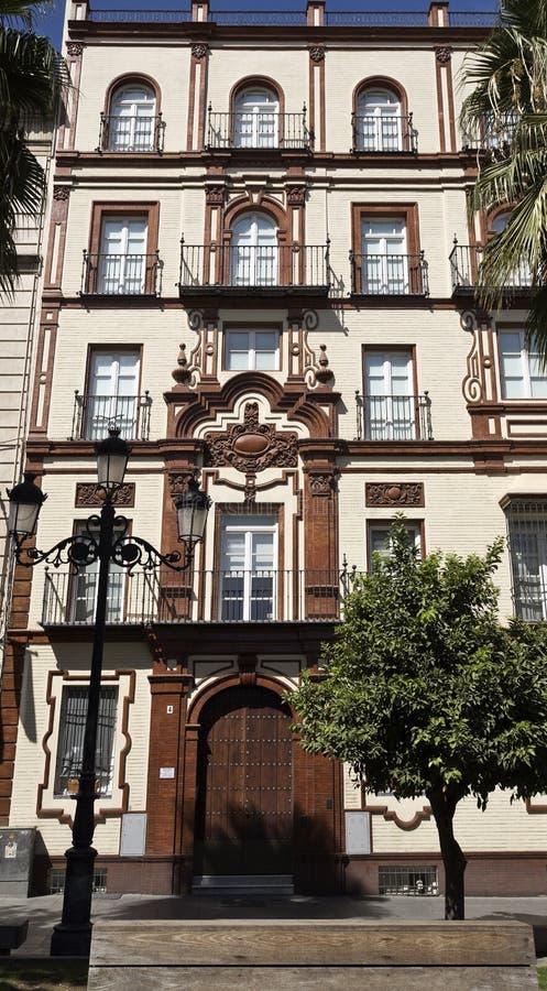 Архитектура классики Севильи стоковые изображения rf