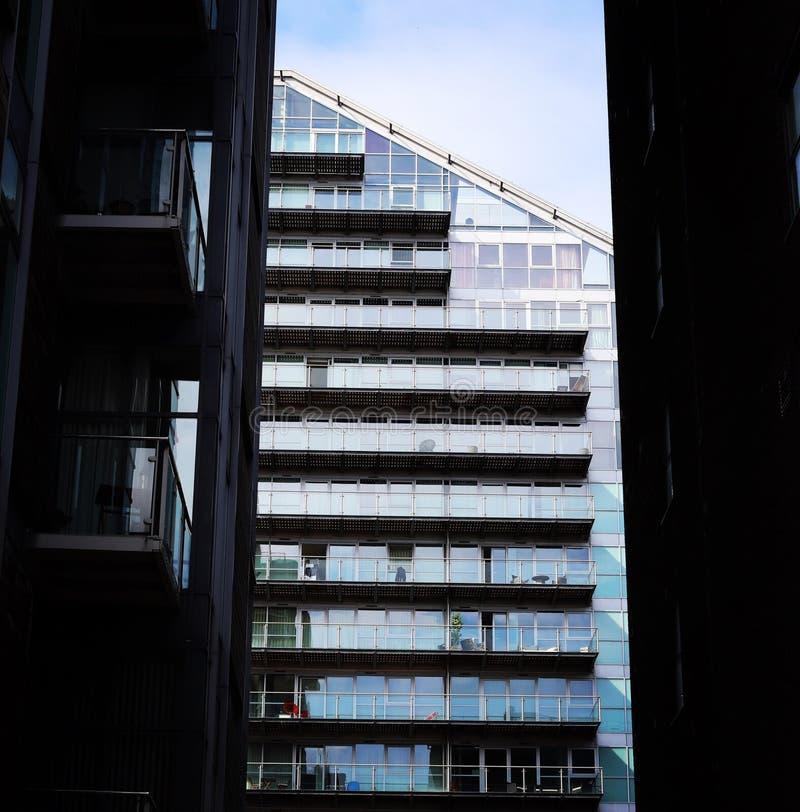 Архитектура Манчестера городская стоковая фотография