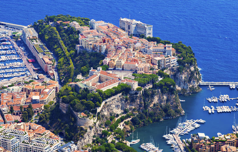 Архитектура Монако стоковые изображения rf