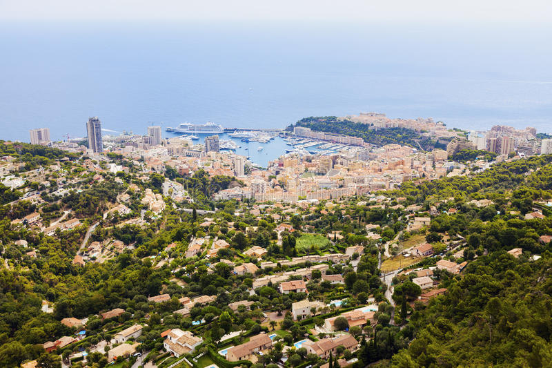 Архитектура Монако стоковое фото
