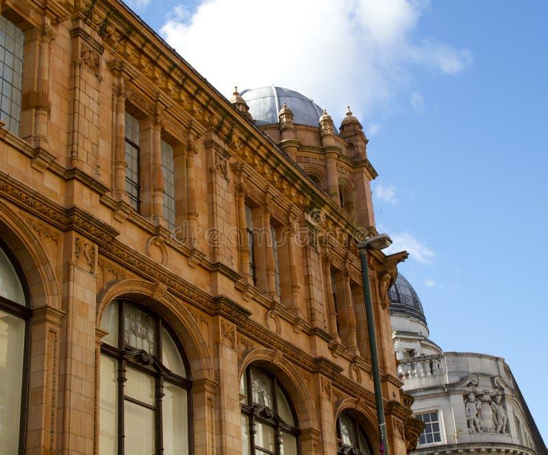 Архитектура Ноттингема стоковая фотография rf