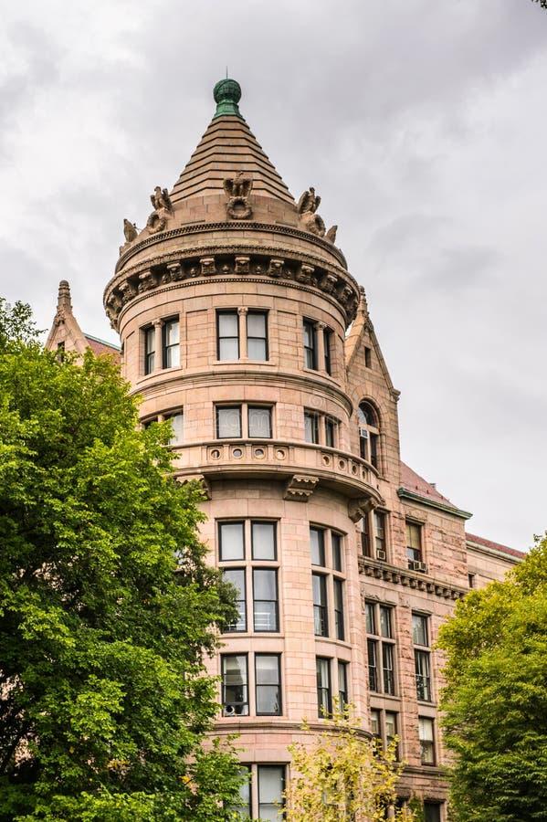 Архитектура Нью-Йорка, США стоковые фотографии rf