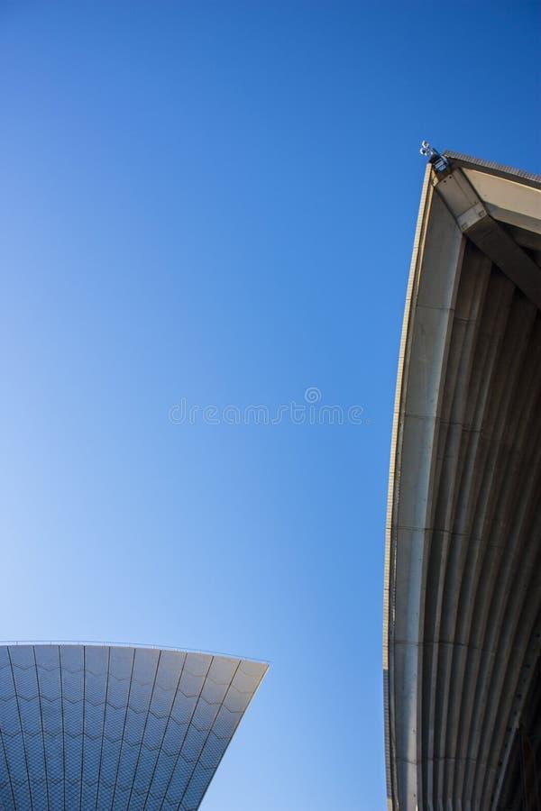 Архитектура A+ - оперный театр Сиднея стоковая фотография