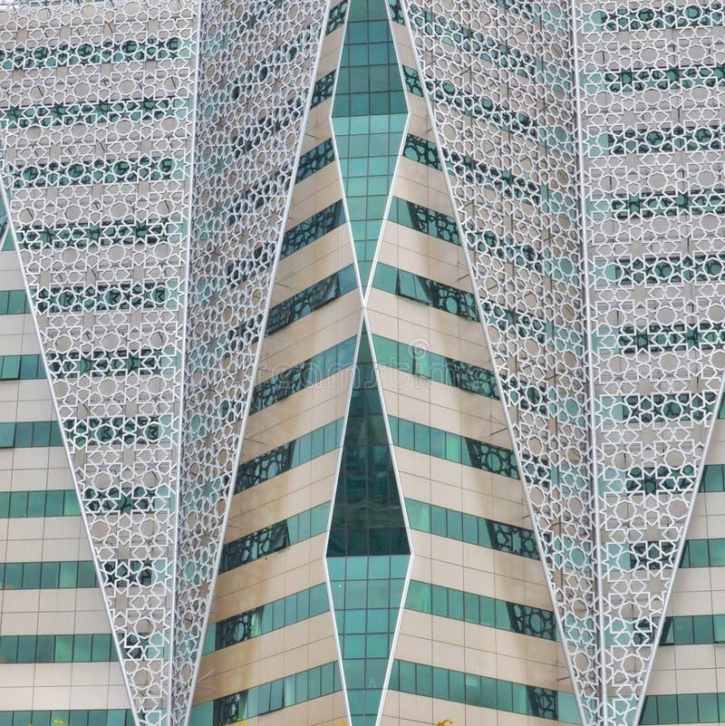 Архитектура подробности шаблон стенок геометрический абстрактный фон стоковое фото