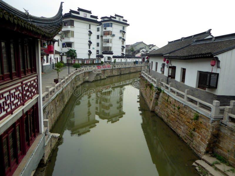Архитектура древнего города Zhaojialou стоковая фотография rf