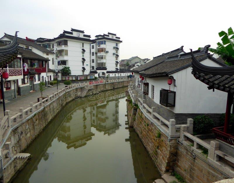 Архитектура древнего города Zhaojialou стоковые фото