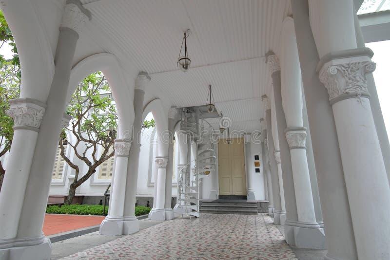 Архитектура Сингапур Chijmes историческая стоковые фотографии rf
