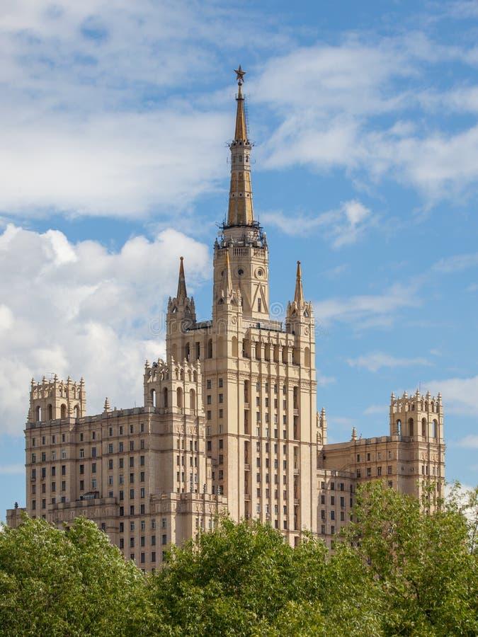 Архитектура советского времени стоковые изображения rf