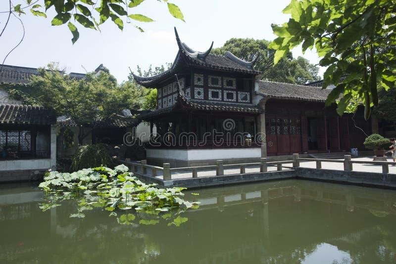 Архитектура Сучжоу классическая стоковые фото